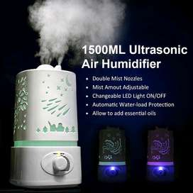 Taffware Aroma Therapy Air Humidifier 7 Color Light 1500ml - HUMI H6