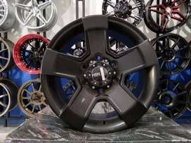 Velg Mobil Triton Hardtop dll Ring 16 HSR KINGKONG H6X139,7 Blakc