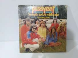 """Vinyl Turntable Pussycat Simply to be with you """"Including Daddy"""""""