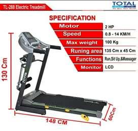 Alat fitness = Treadmill elektrik TL 288