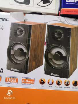 Speakers are available on less price