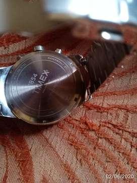 Timex  E-class analog blue dial men's watch