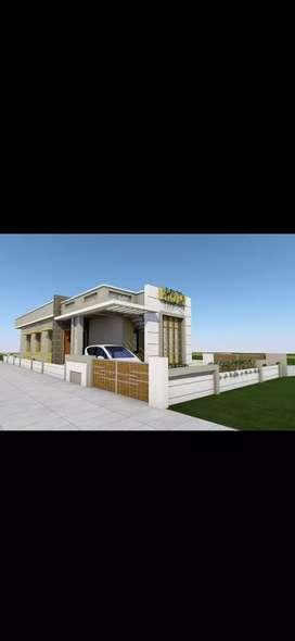 New modern house.