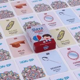Flashcard Daya Ingat / Flash Card / Mainan Edukasi Kartu Pintar Anak
