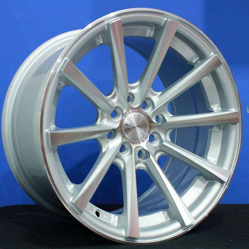 HUSTLER JD9018 R16x7/85 Lubang8 SMF - HSR Velg/Pelek Mobil Import 0