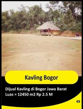 DIJUAL MURAH KAVLING DAERAH BOGOR Rp 2.5 M Nego