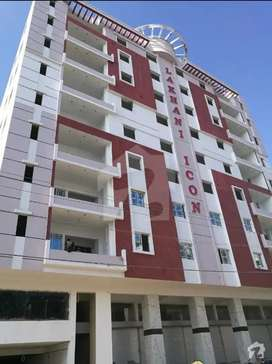 Lakhani Icon 4 Bed Flat Is Available For Sale In PECHS BLOCK 2