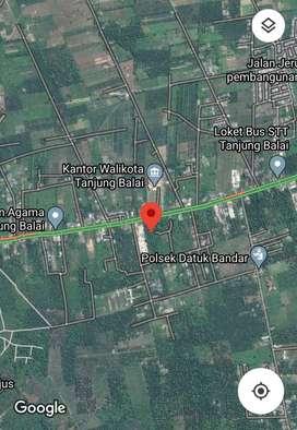 Lahan luas di kota Sumut tepatnya jalan Sudirman Tanjung Balai Kota