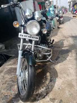 Royal Enfield 350,black color, insurance current, 4th owner