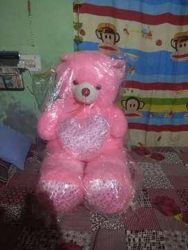 Pink tadey bear
