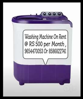 Washing machine on Rent Available Here