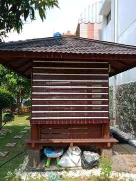 Kerey kayu motif
