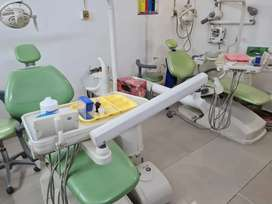 2 Dental chairs,x ray,Compressor, Scaler, tv, instruments etc for sale
