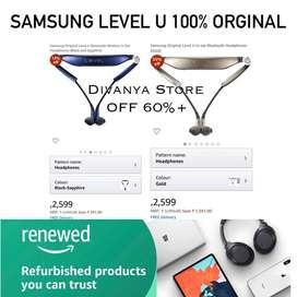 100% ORGINAL SAMSUNG LEVEL U NACKBAND OFF 70% AT ONLINE PRICE