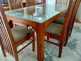 New Dining set home delivery 8O784(call)565O4