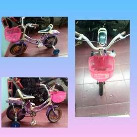 Sepeda anak ukuran 12 exotic