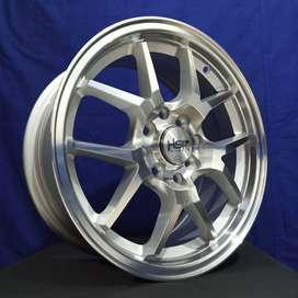 Velg Mobil Avanza Sigra Vios Calya Brio Ring15 Pcd 4x100 & 4x114,3