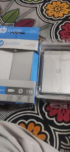 hp  external portable drive 1 tb hard disk