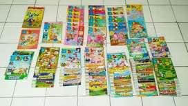 Buku Majalah Bobo Lama ada 80 buku Koleksi Bagus