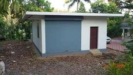 Roadside House Plot and a New Concrete building at Anchiri, Thodupuzha