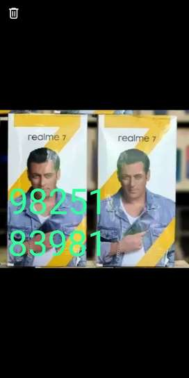 Realme 8gb 128gb new seal pack available with gst bill