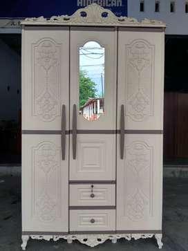 Promo Terbatas Khusus Ramadhan !! Lemari Plastik 3 Pintu Premium !