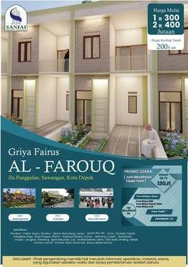 Griya Fairus Al Farouq Rumah Islami Minimalis Sawangan Punya
