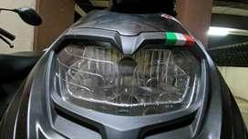 Single headlight dome for Aprilia Sr 150/125