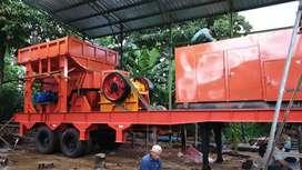Stone crusher mobile plant 60TPH