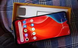Realme c15 new smartphone just unboxed 3 days old sister gifted by me