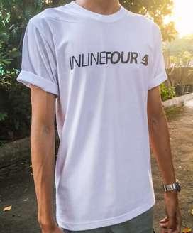 Kaos t-shirt INLINEFOUR super nyaman!