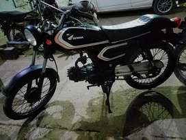 Cafe racer style modified bike for sell