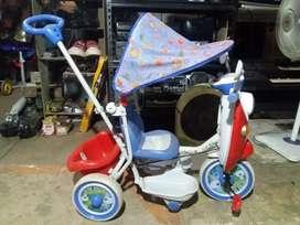 Sepeda anak roda 3 masih mulus