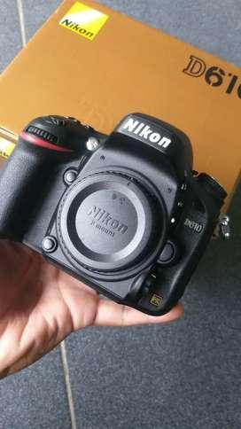 Nikon D610 garansi alta 2021