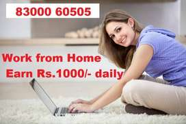 Rs.2000/- Daily Fixed Salary - Online Data Entry Jobs - Free