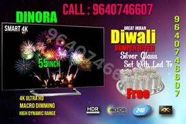 Dinira 55 inch smart led tv ips. samsung panel full Hd 2 yrs warranty