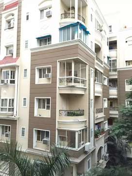3bhk flat semi furnished AB road Touch near lotus Showroom indore