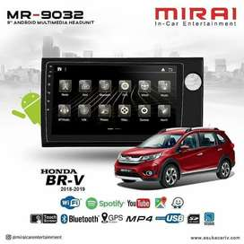 Headunit Android Mirai MR 9032 OEM Plug & Play Honda BRV, All New Brio