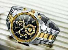 Branded premium edifice watch CASH ON DELIVERY price negotiable hurry