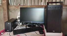 (Computer) PC i3 processor 4GB Ram 1tv hard disk
