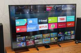 "50"" Sony bravia 4k android sm with bluetooth and voice control system"