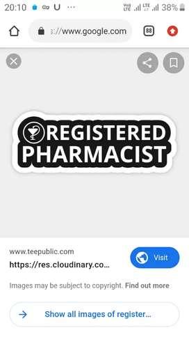 Required Registered Pharmacist in korba