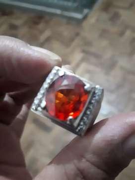 Red Sapphire Padparadcha