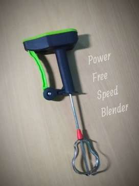 Speed Blender Power-free ( Without any current)