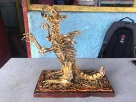 Dragon Action Figure (terbuat dari tulang asli) (harga nego)