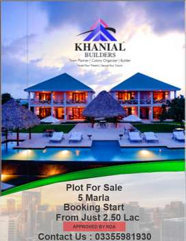 Plot are available for sale in Khaniyal homes in islambad