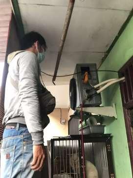 service ac -mesin cuci - kulkas -water heater dll &Bongkar pasang ac
