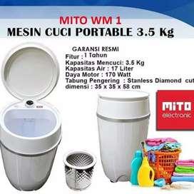 Mito mw1 Mesin Cuci unik Portable serbaguna untuk Koss Mess