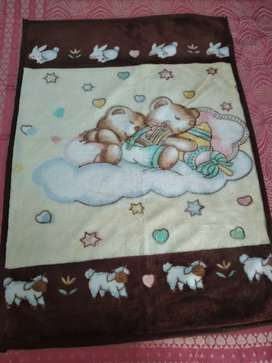 Baby Mink blanket, 4ftx3ft,  suitable for age upto 6yrs, soft and cozy