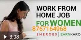 More earning job data typing online work..m